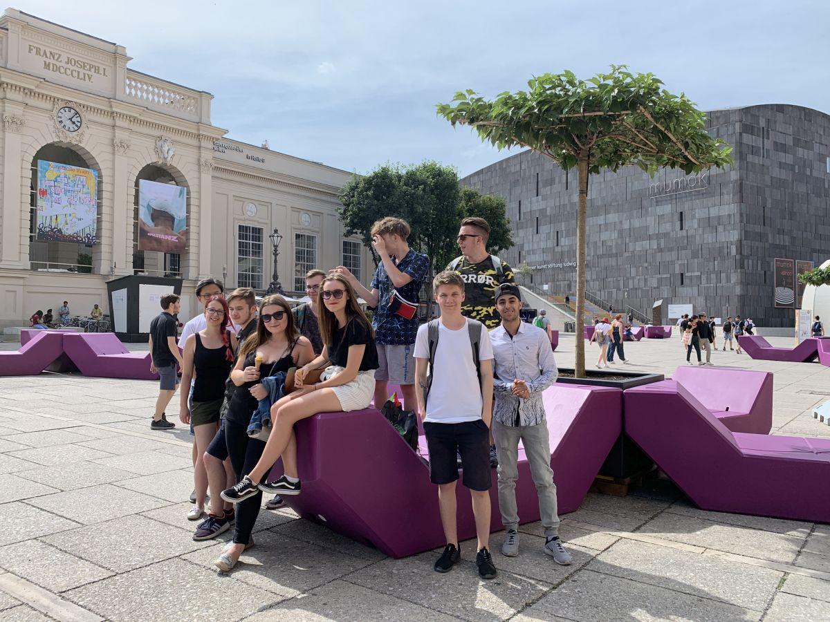 Exkursion in die Uno City 2019.