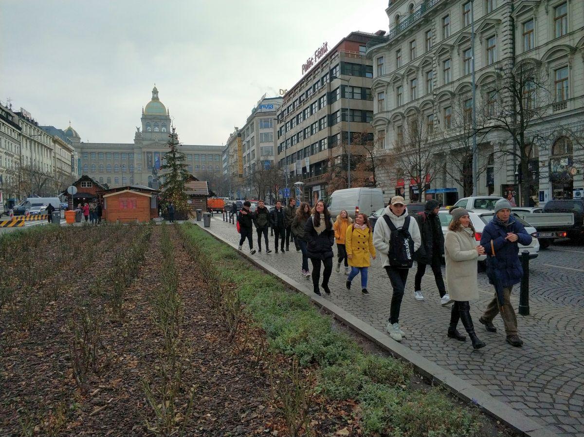 Exkursion Prag Dezember 2019