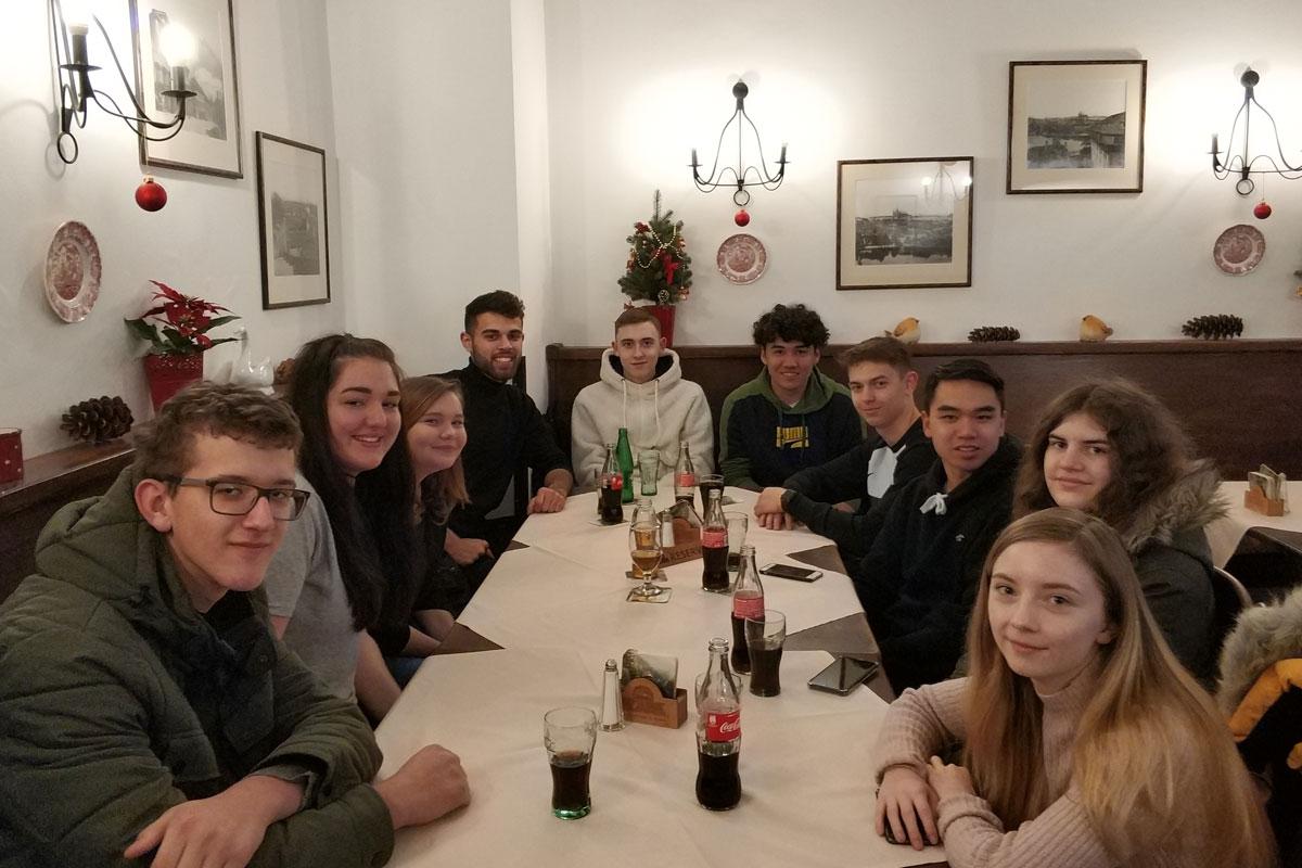 Exkursion 2AS nach Prag
