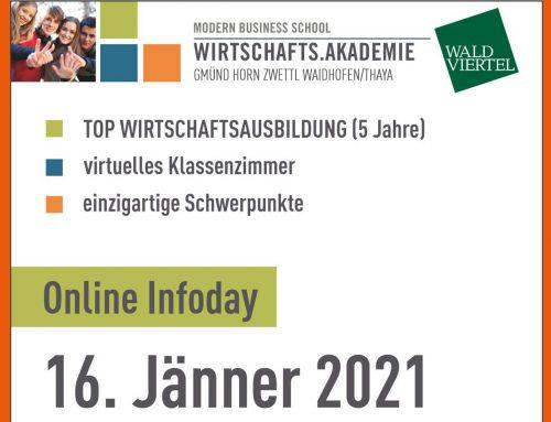 Online Infoday Wirtschafts.Akademie