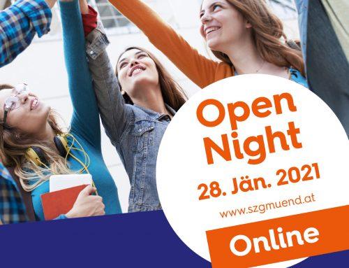 Online Open Night des SZ:G