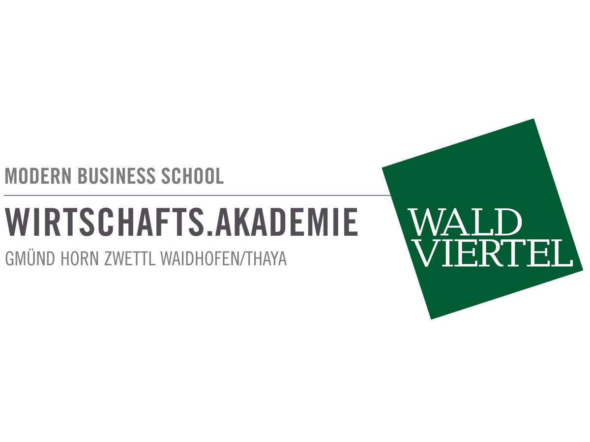 Logo Wirtschafts.Akademie.Waldviertel